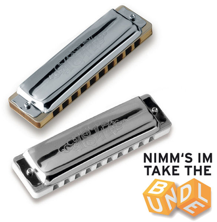 Blues Harmonica Set - 1847 Vario 12