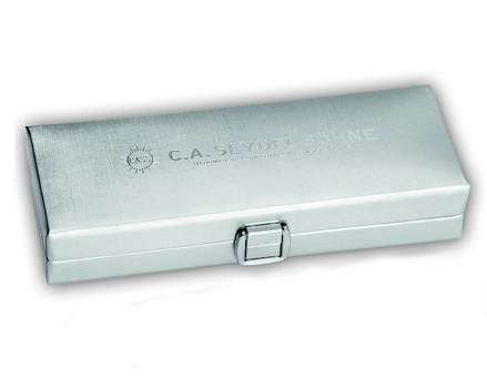 Folding box for Chromatic (silver)