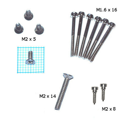 Set of reedplate screws for Chromatic