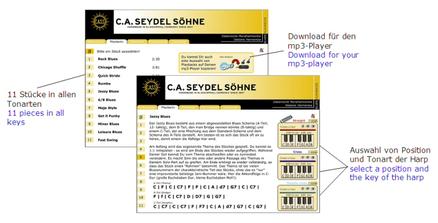 Soundcheck Vol 1 Seydel Söhne Blues Beginner Pack von C.A