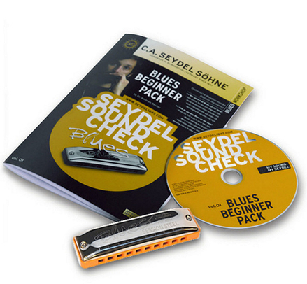 10 + 1 Soundcheck V. 1 STEEL - Blues Beginner Pack