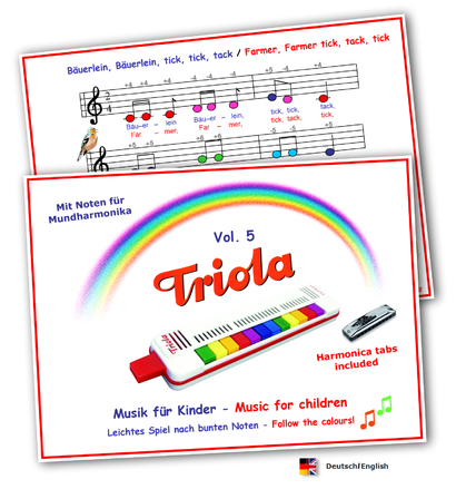 Songbook Vol. 5 German/English