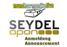 SEYDEL open registration 2019 and download of the playalongs