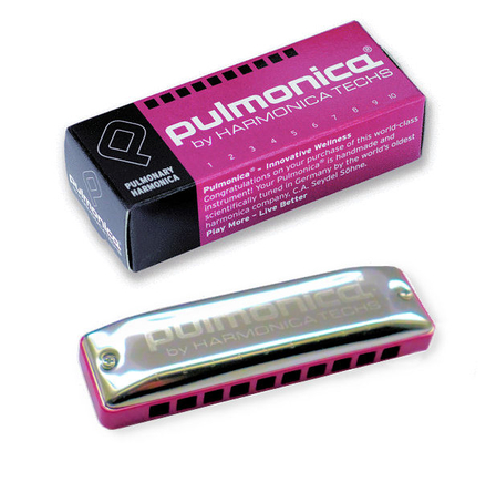 PULMONICA® - The Pulmonary Harmonica designed for non-musicians