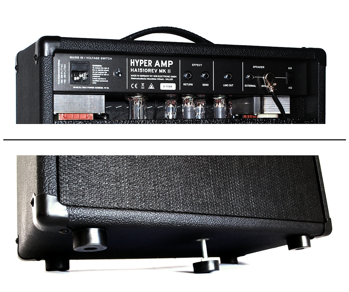 Hyperamp HA1510 REV MK II - C.A. SEYDEL SÖHNE