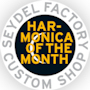 New: harmonica of the month