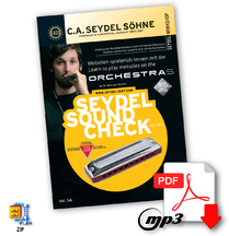 Download: Soundcheck Vol. 4 - ORCHESTRA S - Heft & Sound ohne Harmonika