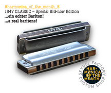 Harmonica of the month - August 2015