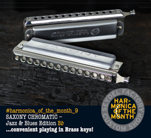 Harmonica of the month - September 2015