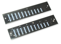 Set of reedplates for DE LUXE STEEL Chromatic