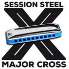 New: The SESSION STEEL MAJOR CROSS