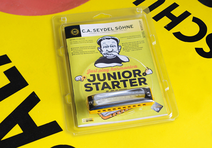 Just Play Harmonica - Junior Starter Kit