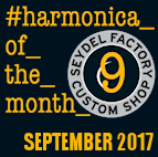 Harmonica of the month - Sept. 2017