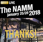 NAMM show 2018 - Thanks for visiting us