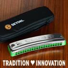 The new CLUB STEEL Oktave Harmonica