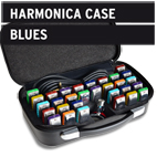 Neues kompaktes Blues Harmonica Case