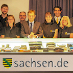 Visit of the Saxony's minister president