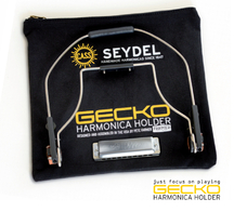 GECKO Harmonica Holder