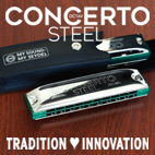 New: The CONCERTO STEEL Octave