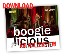 Download: Boogielicious feat. Abi Wallenstein - live & pure
